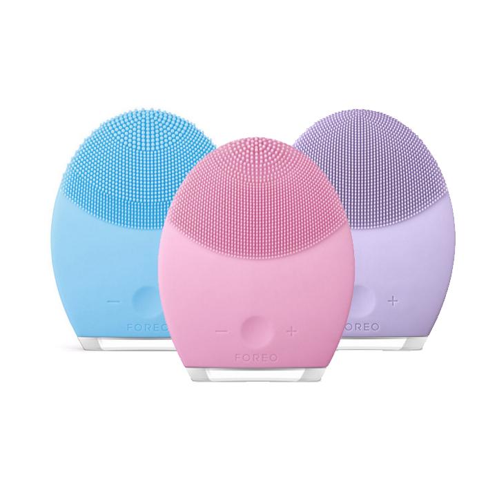 FOREO LUNA第二代露娜电动充电洁面仪毛孔清洁器硅胶美容仪洗脸刷