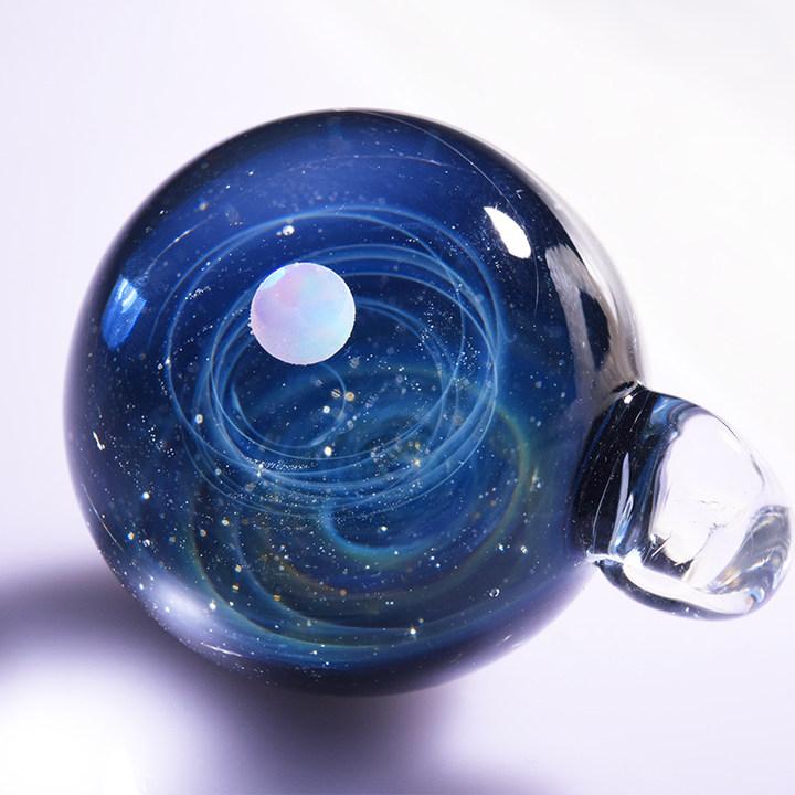 【探寻内在的自己】创意生日礼物宇宙玻璃吊坠浪漫星空项链