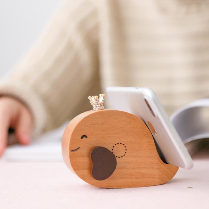 鲸鱼木马原木音乐盒