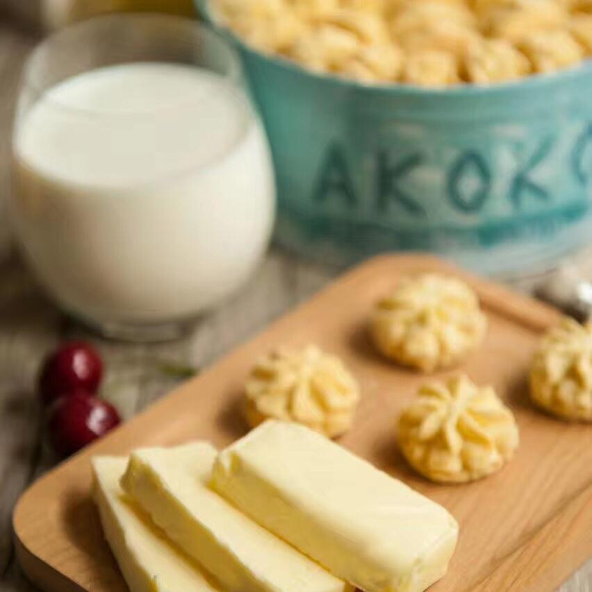 【牛油口味】AKOKO曲奇牛油口味560g/盒 顺丰包邮