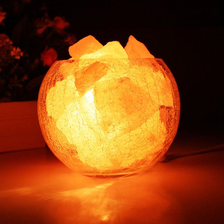 温馨气氛,负离子水晶盐灯|来自大自然的小惊喜