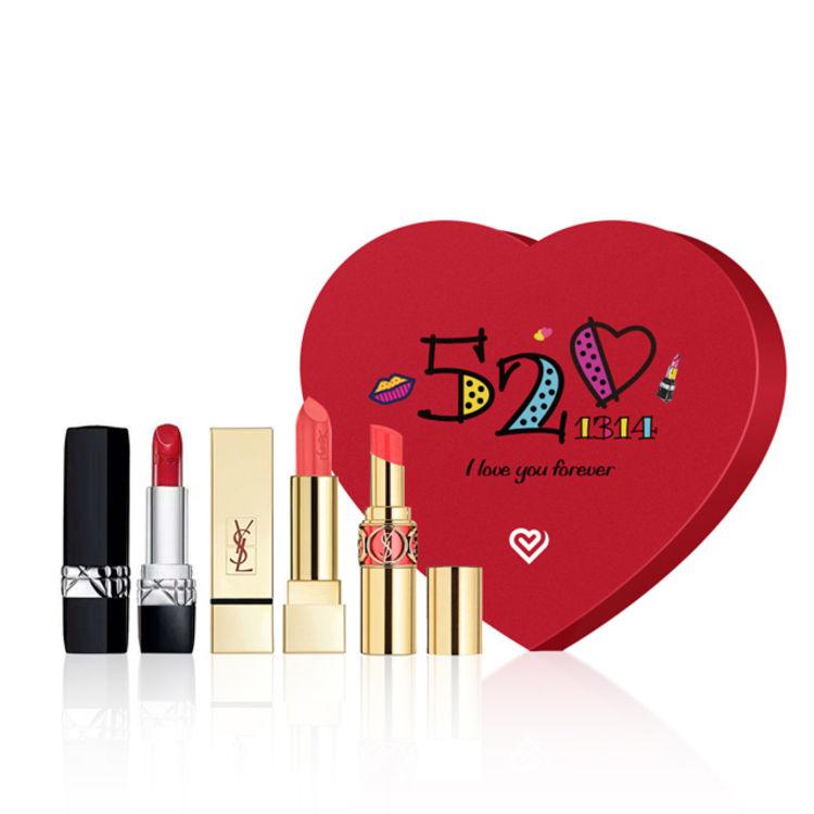 用口红色号说情话,「直男情人节解忧」好频率99%的礼物,有实力的来!