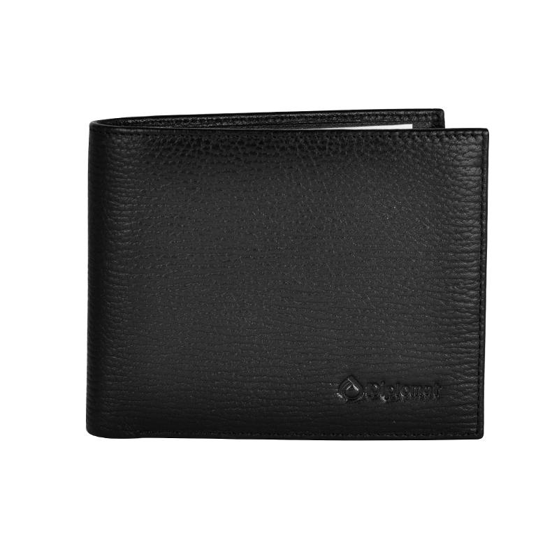 外交官 钱包  横夹 真皮钱包 男士钱包 送礼 DS-1268-1