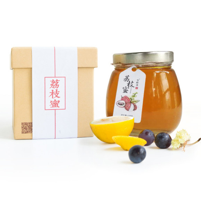 等蜂来 荔枝蜂蜜  618g礼盒装 荔枝之乡的蜂蜜 滋补养生 0添加纯蜂蜜