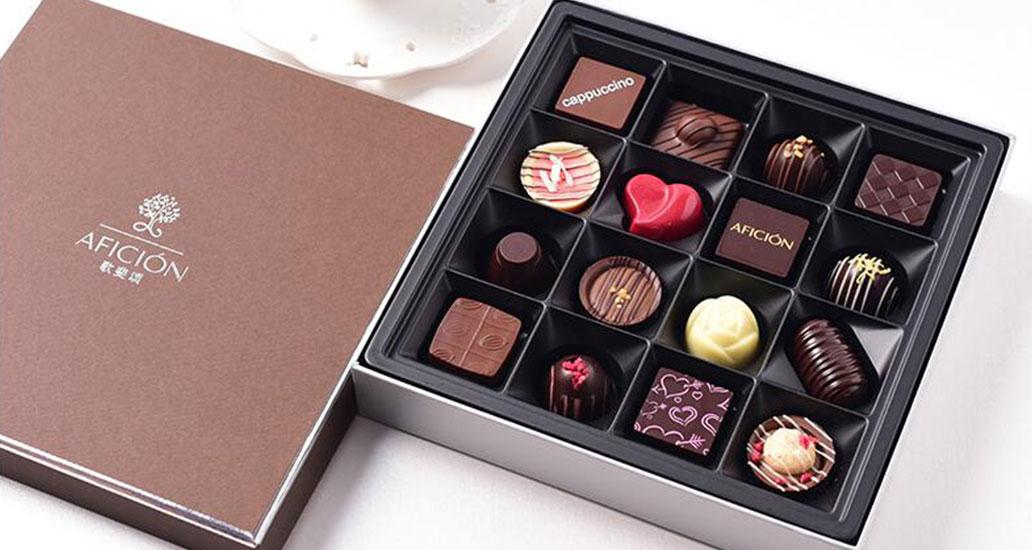 你的吃货女友,想要创意巧克力哦