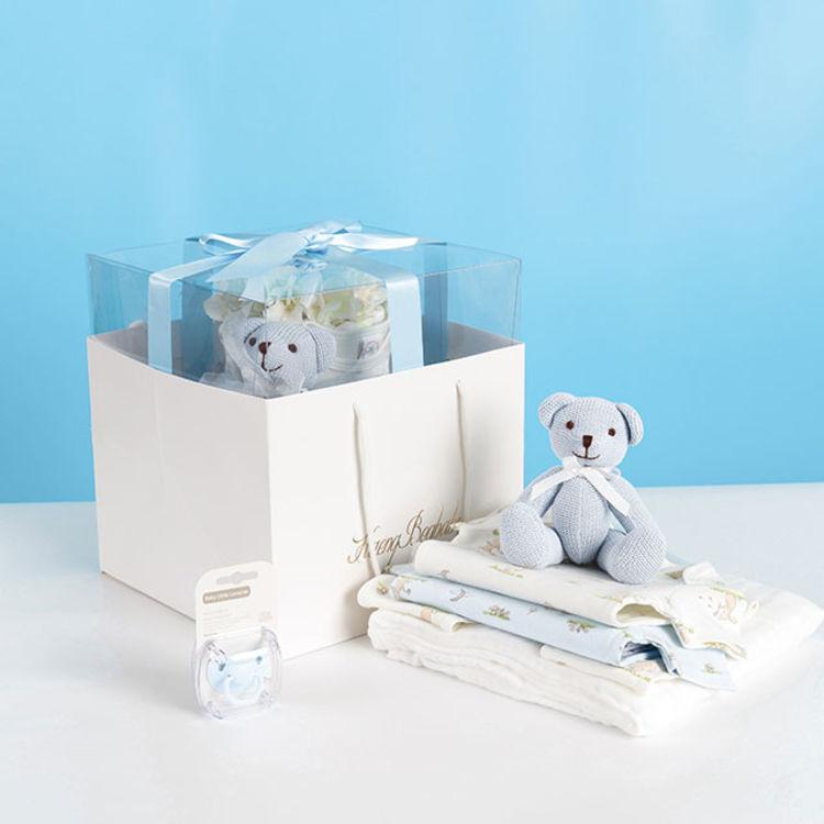 """""""蛋糕""""礼盒,最安全、最实用的新生儿礼盒原来长这样"""