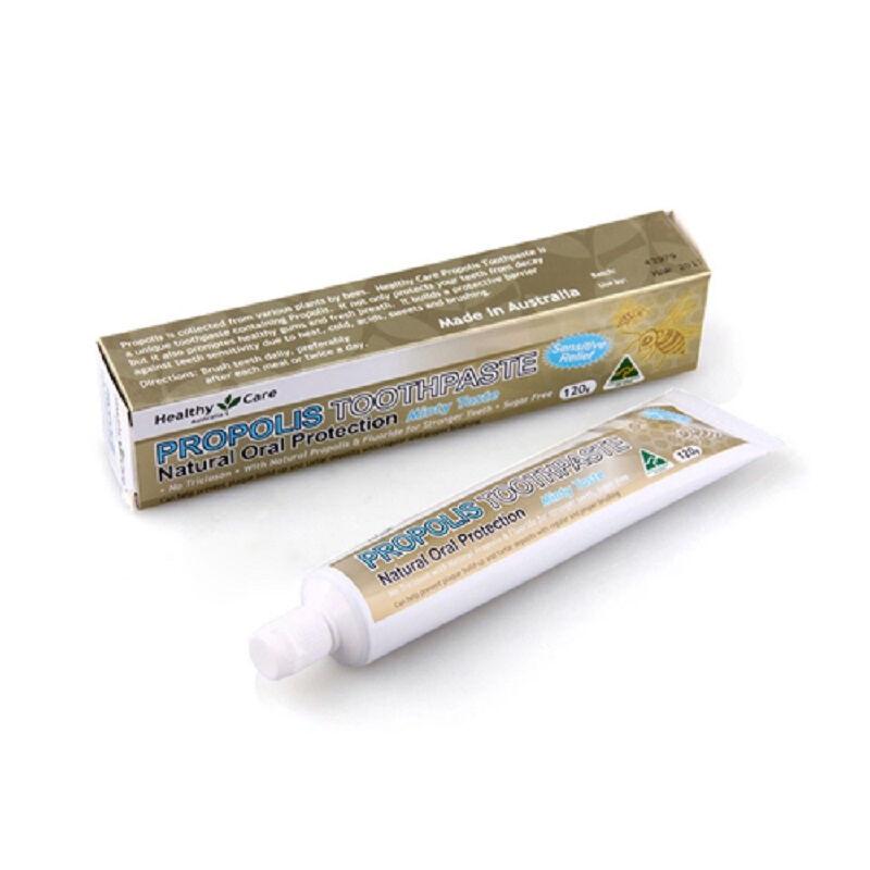 澳洲 Healthy Care 蜂胶牙膏 3支装