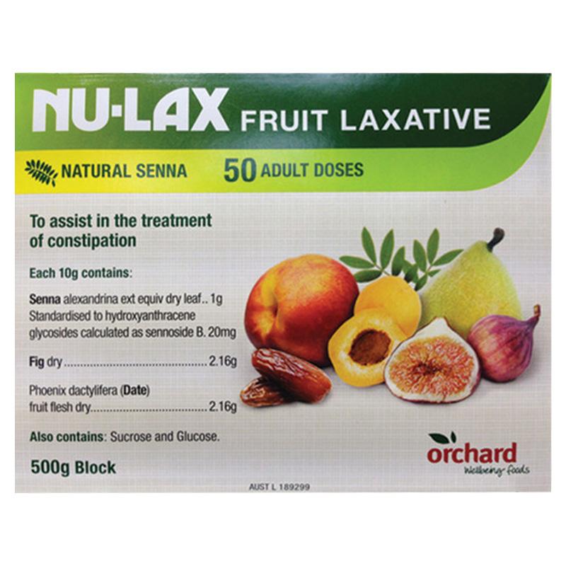 【澳洲人气排便膏】Nu-lax 纯天然果蔬润肠乐康膏 500g