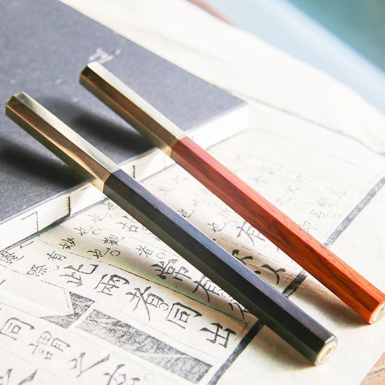 设计师原创红木签字笔,七夕,送什么给你家的文艺男?