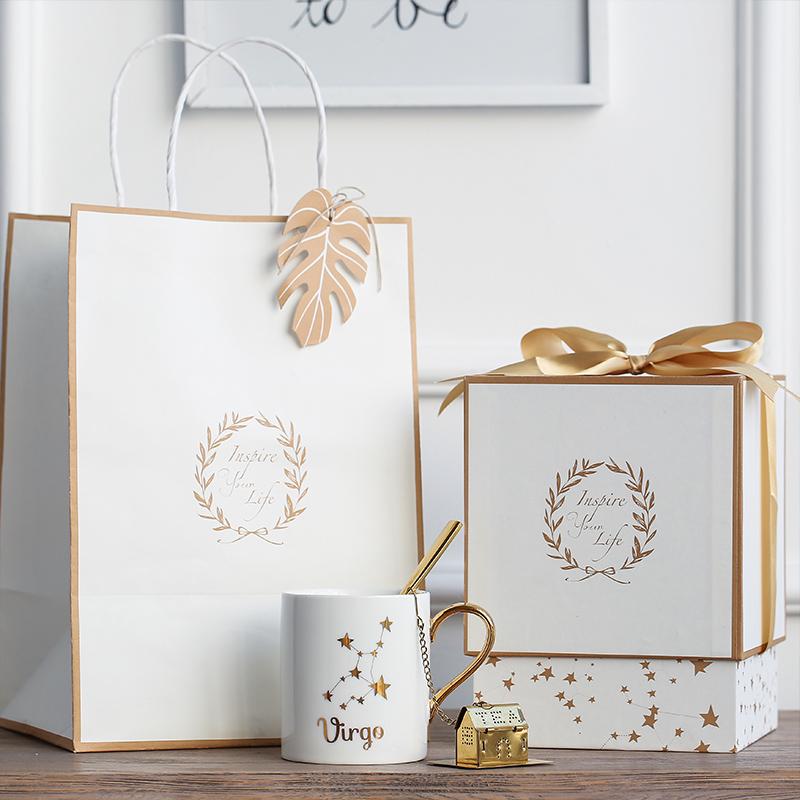 七夕情人节生日礼物12星座情侣个性水杯创意礼品星巴克咖啡马克杯