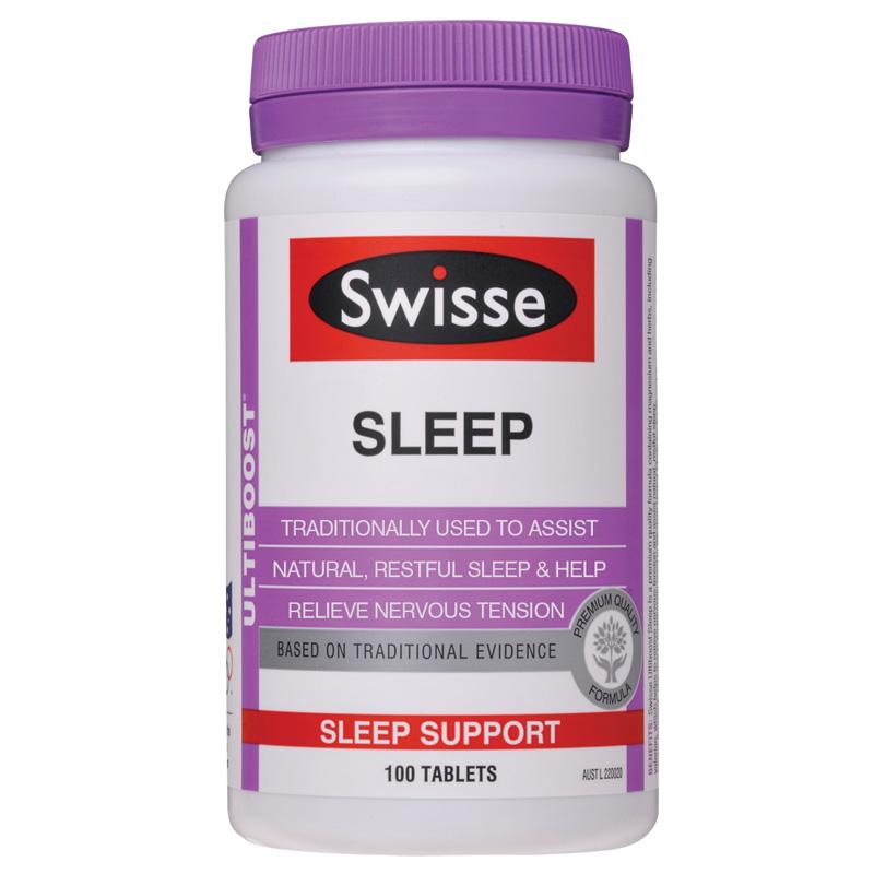 澳洲 Swisse 纯草本精华改善睡眠片 100粒