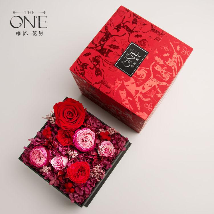 进口永生玫瑰礼盒,七夕爱礼 | 红玫瑰的永生花,被偏爱的都是今生挚爱