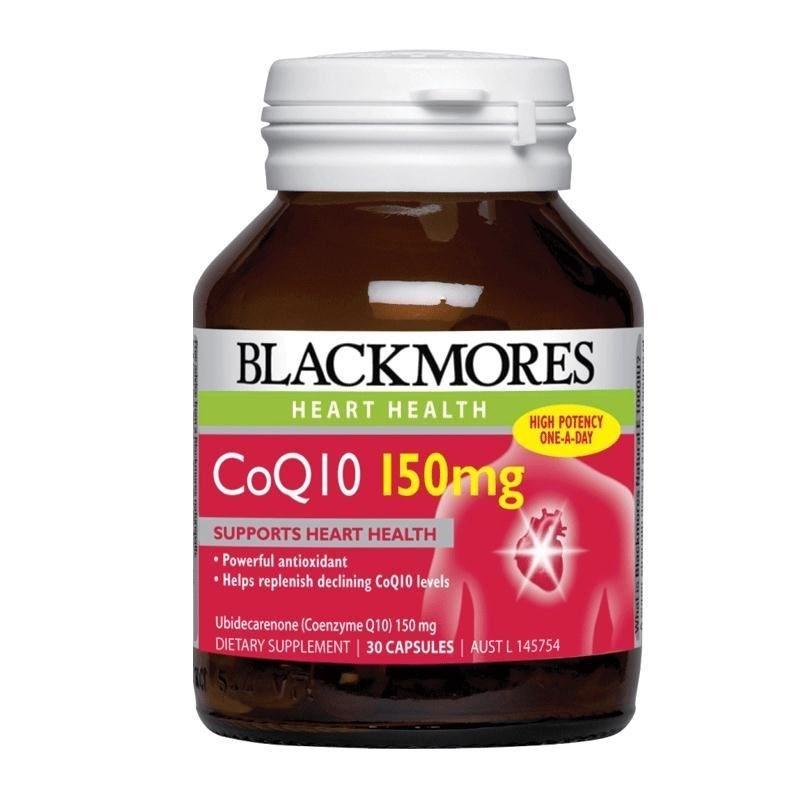 澳洲 Blackmores 澳佳宝 Co Q10 护心宝 150mg 30粒