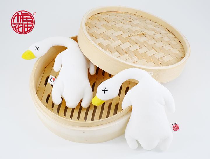 盐水鸭子挂饰玩具