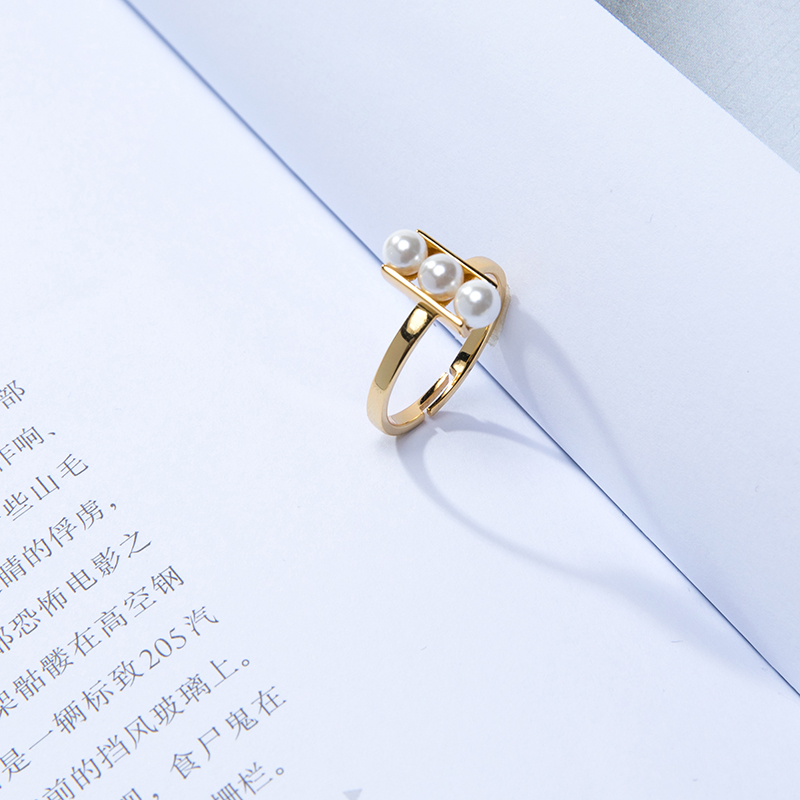 左心房Left Heart珍珠戒指