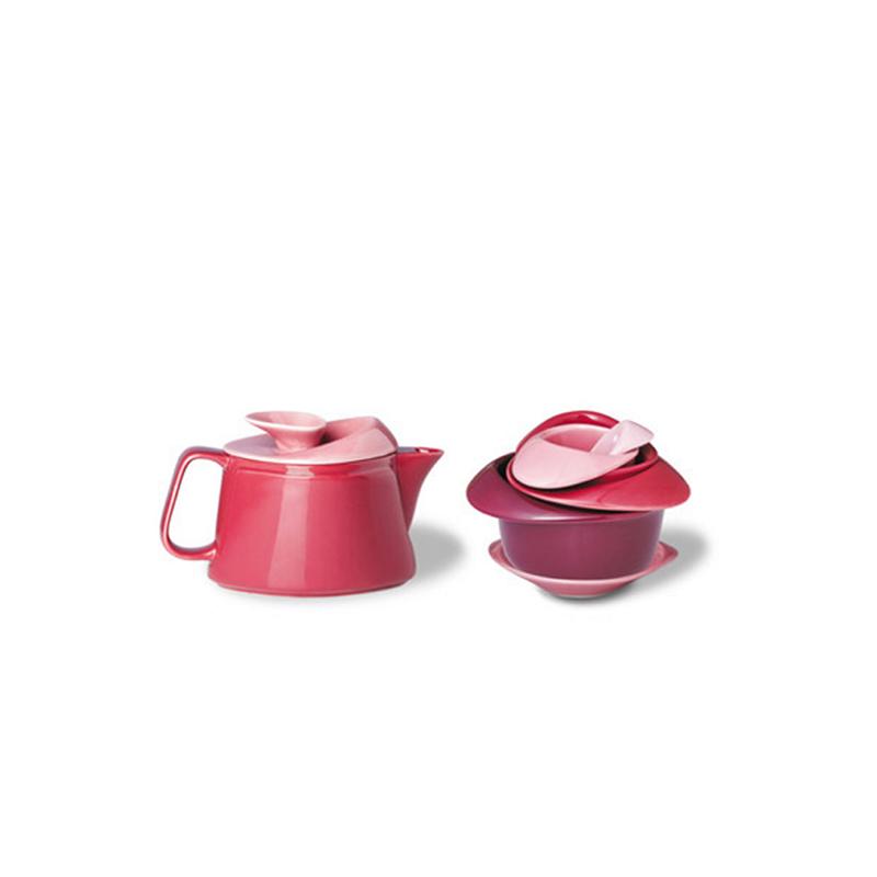 玫瑰花茶壶套装 礼物