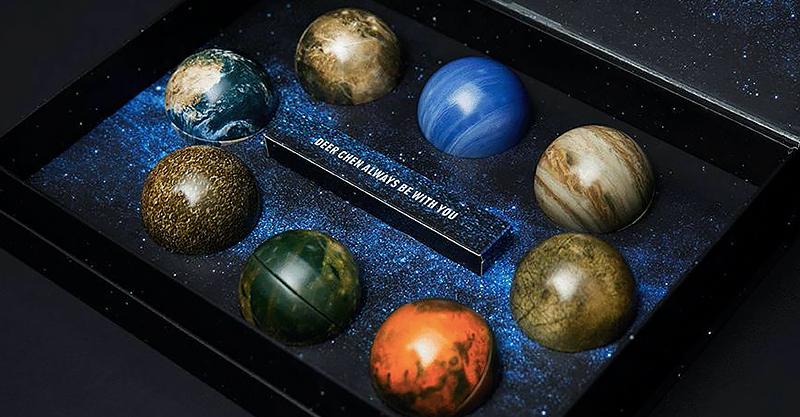 星空摘来送给ta!火星情报局爆款星球月饼!