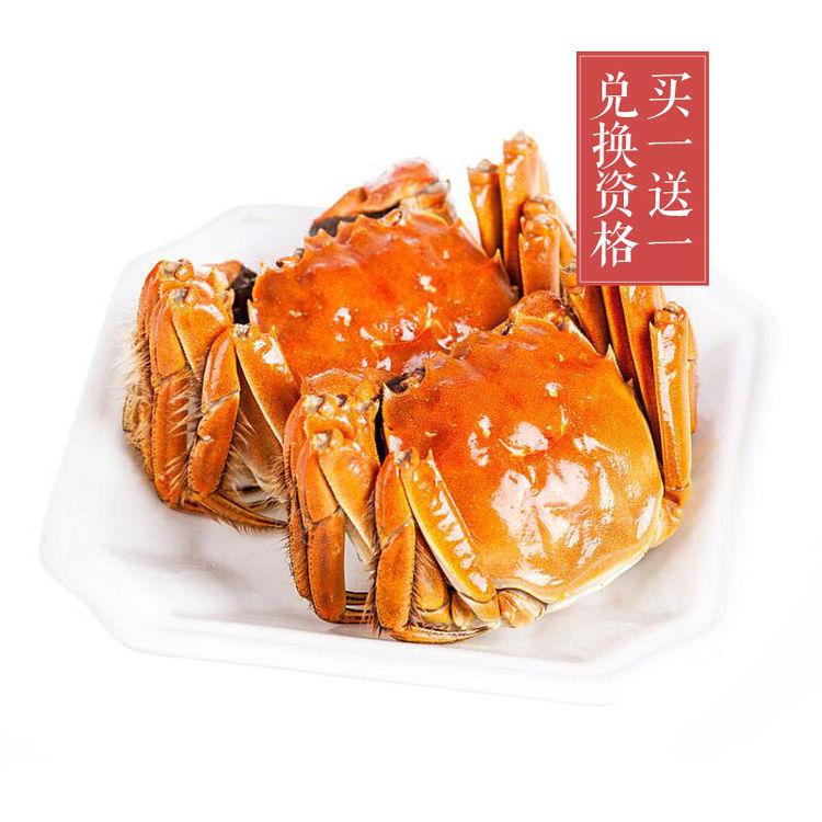 """兑换资格 非实物券,极品:不是所有的大闸蟹都叫""""俞三男"""""""