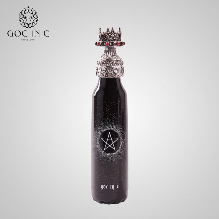 GOC IN C新款潮流皇冠保温杯