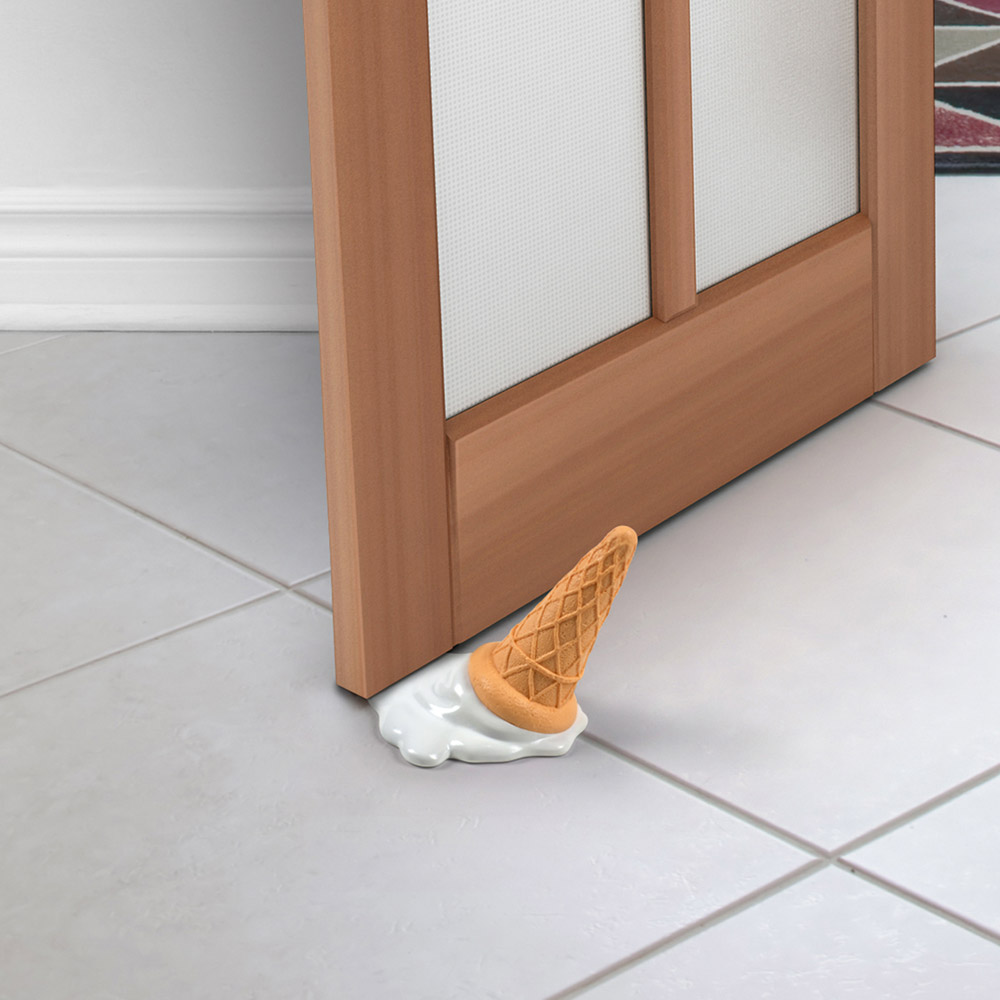 乔迁礼物 融化的冰淇淋门挡 创意门挡 门吸 门卡 雪糕门挡