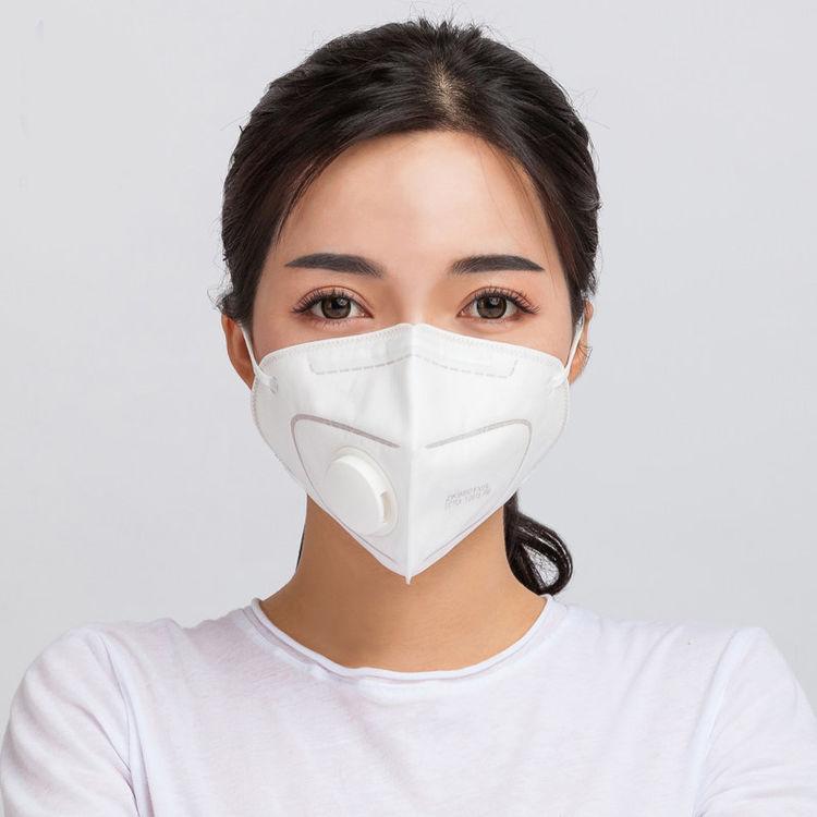 Mu/幻响 新国标纳米防护PM2.5防雾霾透气口罩