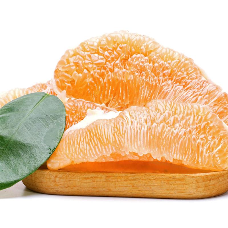 福建琯溪橙香柚/黄金蜜柚2只约4.5-5斤