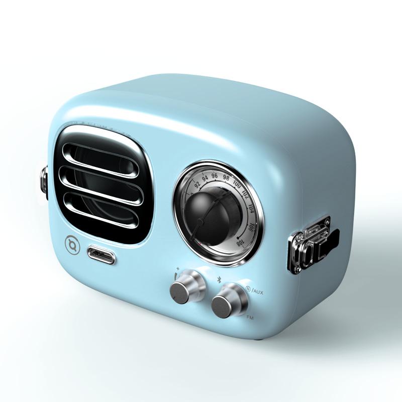 猫王Radiooo收音机 多士蓝
