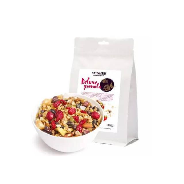 澳洲正品MyShee麦食 贵族麦片750g/袋 水果颗粒果仁谷物坚果早餐速食