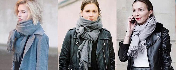 自營特輯|天冷了,好看百搭女式圍巾來一打!