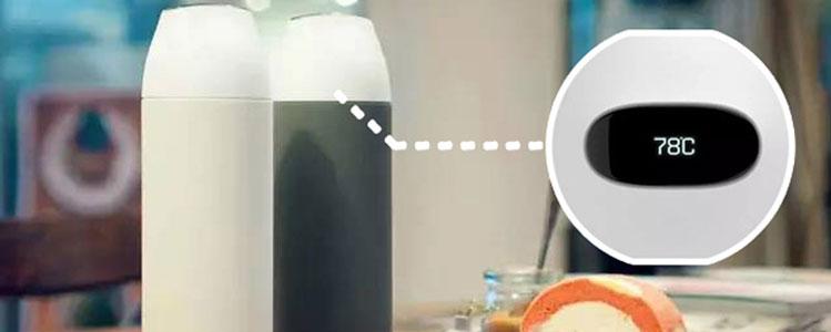 高颜值保温杯很多,但能焖蛋还实时测水温的不多!