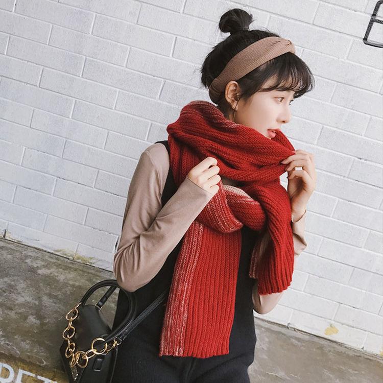 冬季亲肤又保暖,天冷了,好看百搭女式围巾来一打!