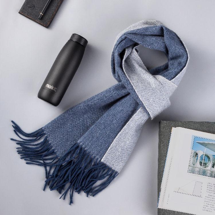 心意礼盒 送爱的人,100%羊绒围巾,品质媲美巴宝莉