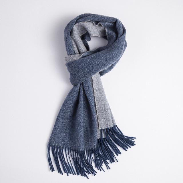 双面羊绒围巾+智能电动牙刷  送男友 老公 爸爸生日圣诞礼物