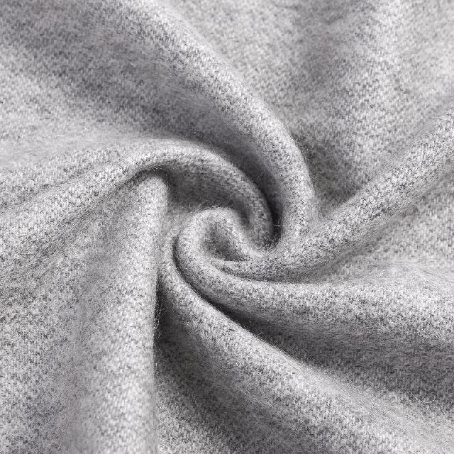 双面羊绒围巾 送男友 老公 爸爸 生日 圣诞礼物
