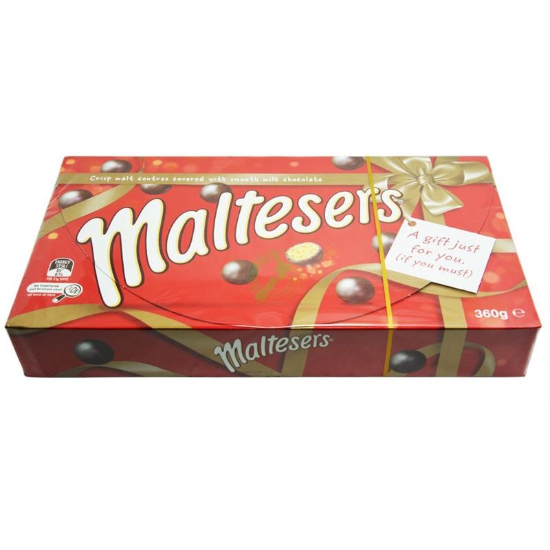 澳洲Maltesers麦提莎 麦丽素巧克力豆360/盒