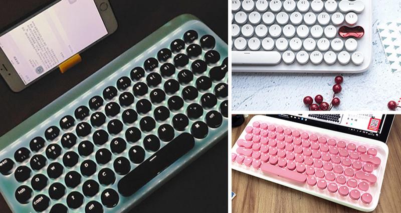 键盘治愈系:高颜值机械键盘、人体工学键盘