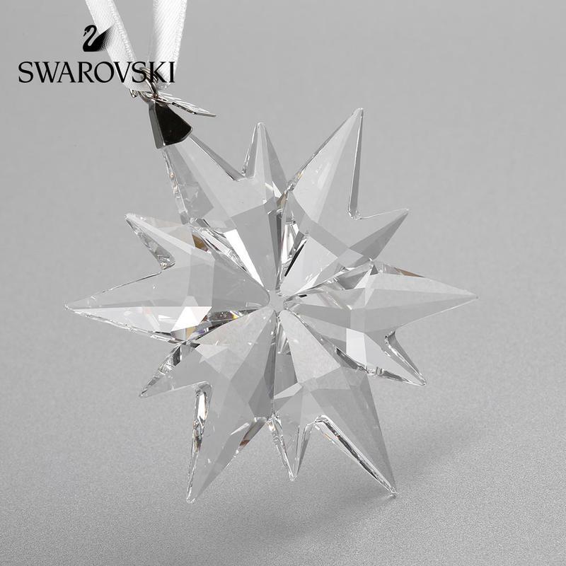 SWAROVSKI 施华洛世奇 精选仿水晶圣诞星星挂饰 汽车挂饰 透明 5257589