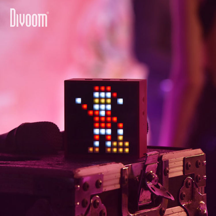 Divoom TIMEBOX-mini智能像素音箱 表白神器