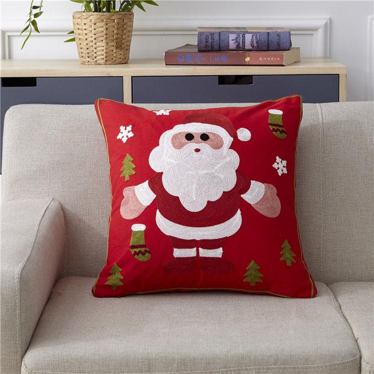 """全棉毛巾复合秀抱枕,居家圣诞气氛很简单,这里一""""件""""帮你解决?!"""