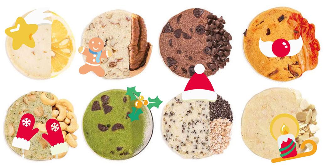 圣诞节送吃货的「奇葩曲奇」,敲...敲好次!