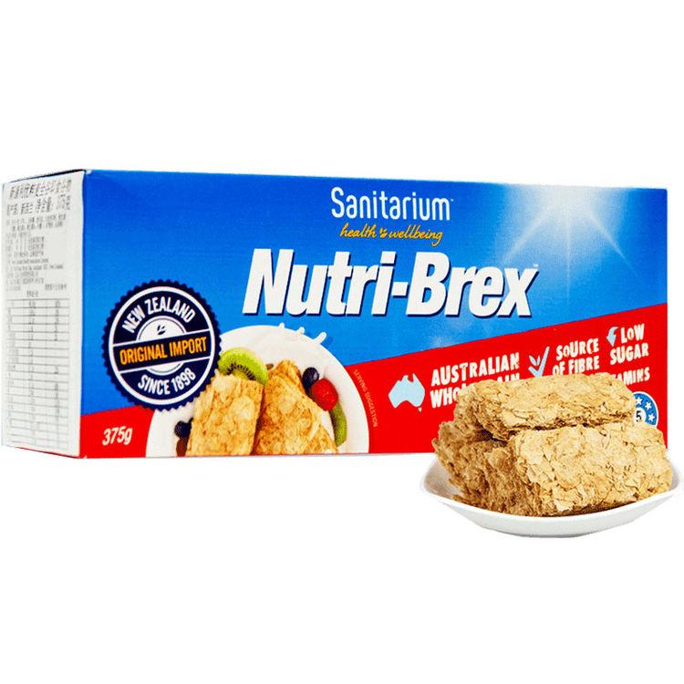 澳洲新康利/欣善怡nutri-brex全谷物375g 欢乐颂麦片早餐冲饮即食