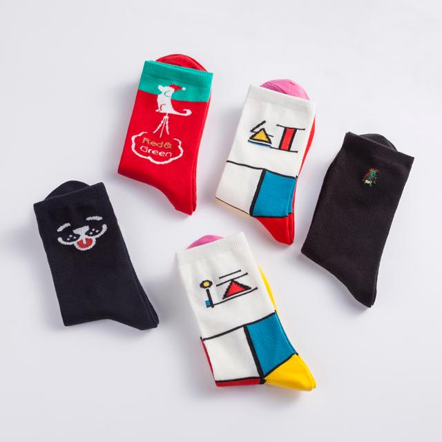 """""""走""""运袜子礼盒 圣诞礼物"""