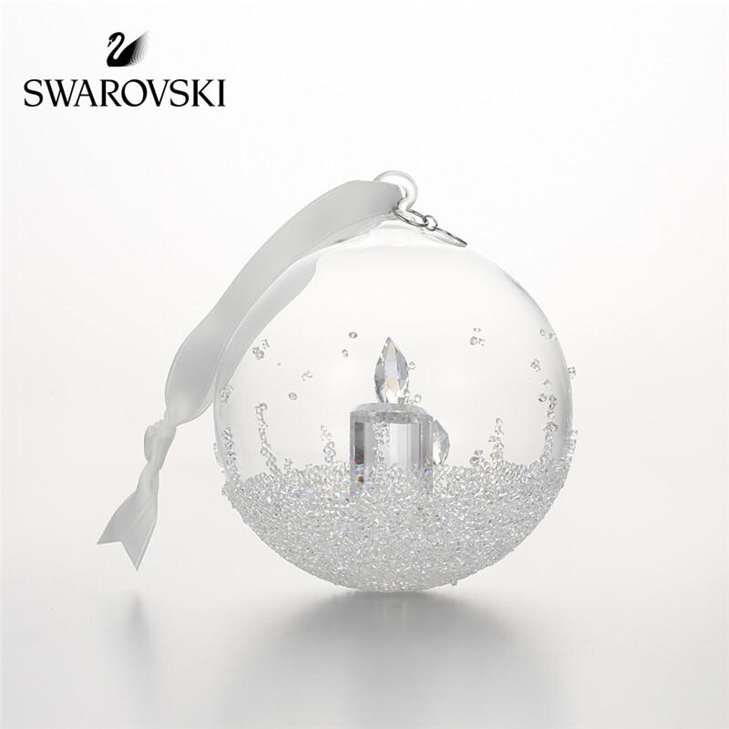 SWAROVSKI 施华洛世奇 浪漫水晶球 车饰挂件 5241591