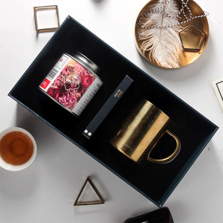 大罐花茶+金色马克杯,七夕送女票,这十多款颜值爆表的礼盒就够了