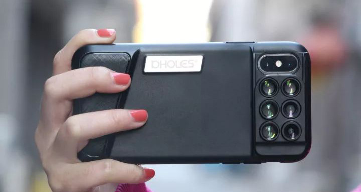 iPhoneX 配上这堆镜头套装手机壳,旅行不用带单反了~