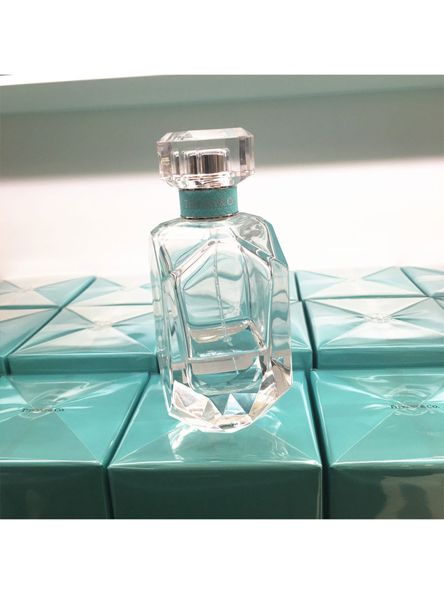 Tiffany & Co 2017 Coty合作款钻石瓶 蒂芙尼香水