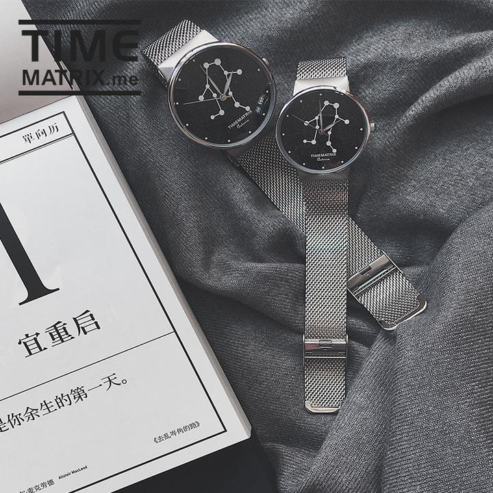 Time Matrix 星彩宝石系列情侣腕表 一对