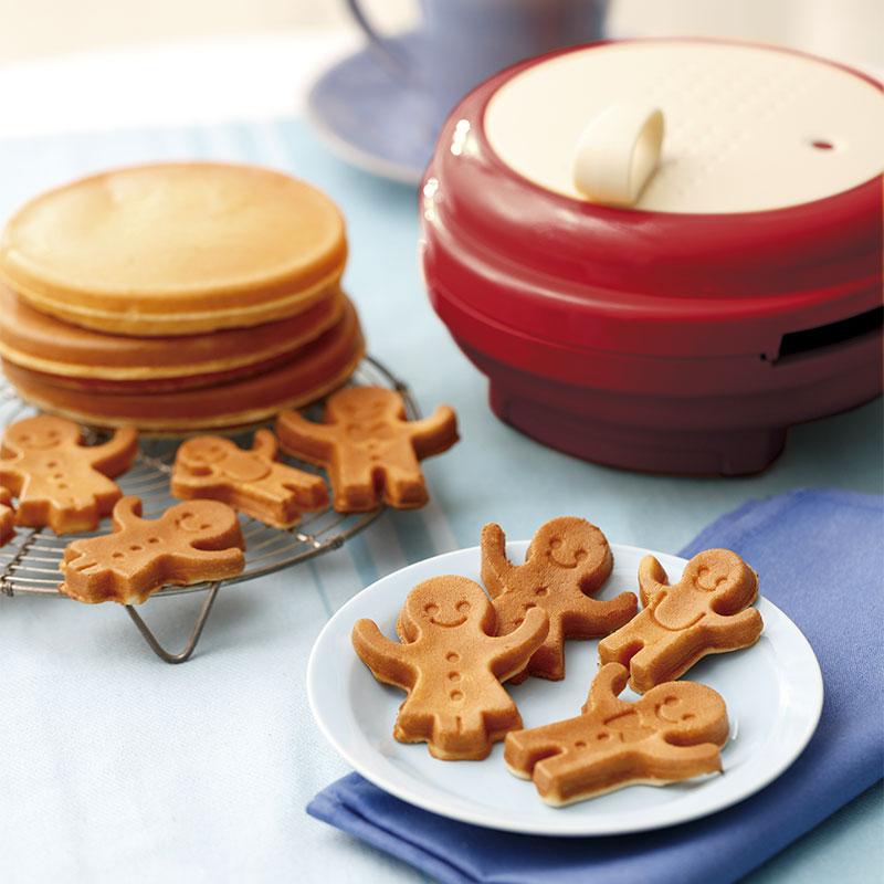 日本recolte微笑松饼机