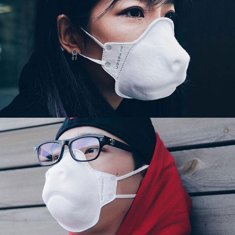 AIRMOTION ZOO MASK 3D仿生学设计动物造型系列透气清吸口罩 男女通用款