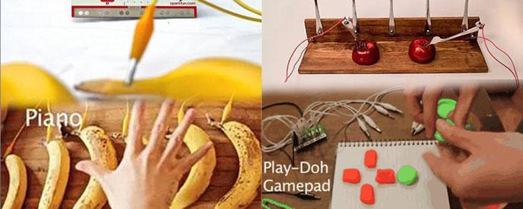 这块板脑洞很大,只要用香蕉、果冻就能编游戏